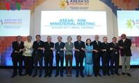 การประชุมเอเอ็มเอ็ม50: ประเทศหุ้นส่วนยืนยันถึงบทบาทและความร่วมมือของอาเซียน
