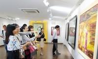 งานนิทรรศการวิจิตรศิลป์เวียดนาม ลาว กัมพูชา