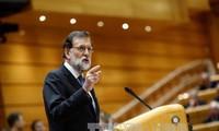 รัฐบาลสเปนควบคุมเขตกาตาลุญญาอย่างเป็นทางการ