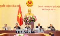 ปิดการประชุมคณะกรรมาธิการสามัญสภาแห่งชาติครั้งที่ 23