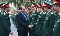 PM inspects Division 312's performance