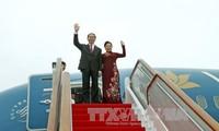 President Tran Dai Quang visits Russia