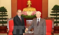 Vietnam, Laos reinforce special solidarity