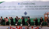 Construction of 5th Vietnam-Singapore industrial park begins