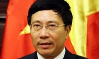 Foreign Minister Pham Binh Minh's activities in New York
