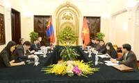 Vietnam-Mongolia 6th political consultation