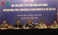 International press conference on East Sea issue