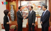 Minister of Public Security receives Vietnam-Japan Special Friendship Ambassador