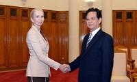 Prime Minister receives new Norwegian ambassador