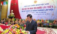 5th National Patriotic Emulation Congress of Vietnam War Veterans' Association