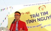 Chu Nhat Hop, leader of blood donation drive in Hanoi