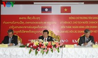 Vietnam, Laos consolidate special friendship, comprehensive cooperation