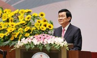 Welcome remark by President Truong Tan Sang at IPU 132