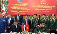 Vietnam, Slovakia boost defense cooperation