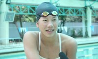 Nguyen Thi Anh Vien, Vietnam's number 1 swimmer