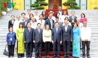President meets delegates to Asia-Pacific Regional Conference of Solidarity with Cuba