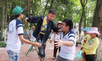 Camp for the disabled opens in HCM City