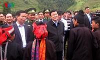 President overhauls community tourism cultural village model in Ha Giang