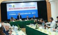 World Federation of Trade Unions' Presidential Council session opens in Hanoi
