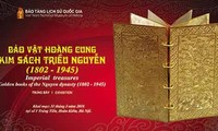 Nguyen Dynasty's gold books to be showcased in Hanoi