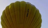 Trial flight anticipating air balloon festival in Thua Thien-Hue