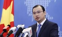 Vietnam request Chinese Taipei to stop violation of Vietnam's sovereignty