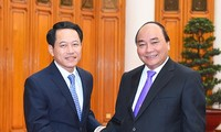 Prime Minister receives Laos's Foreign Minister