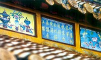 Heritage of poetry on Hue royal architecture part of Memory of the World Program