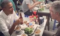 """""""Obama"""" grilled pork noodle in Hanoi"""