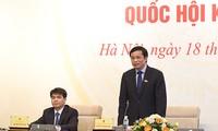 越南13届国会11次会议将用大部分时间审议决定国家人事问题