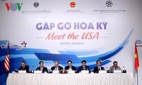 """""""美国会晤""""座谈会为越美合作走向深入做出贡献"""