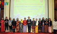 越南驻华使馆举行在华东盟妇女小组交流活动