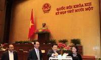 越南国会代表相信政府和总理将带领国家融入国际与发展