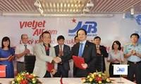 越南军队商业股份银行和越捷航空公司签署购买飞机贷款合同