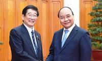 越南和日本优先开展高科技领域合作