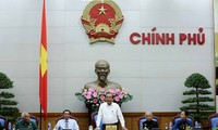 越南政府副总理张和平会见金瓯省为革命立功者代表团
