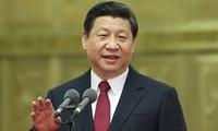 中国全国政协主席俞正声会见日本众议院运营委员长河村建夫