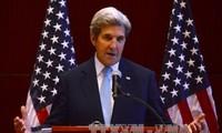 美国国务卿克里呼吁中国和菲律宾遵守有关东海的裁决