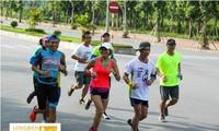 河内举行2016年龙边马拉松赛