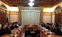 推动胡志明市与中国山东省的合作