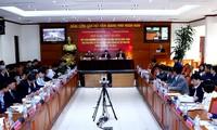 郑庭勇主持会议总结中部和西原地区各省应对洪灾经验