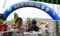 """""""越南人优先用越南货""""运动在芹苴市初步取得显著成效"""