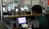 从今年2月1日起越南对外国人入境试行签发电子签证