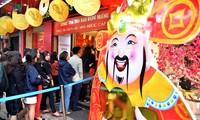 财神日越南国内金价齐涨