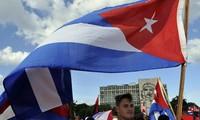 弘扬菲德尔卡斯特罗领袖的古巴国际书展举行