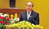 越南国会与祖国阵线要加强监督工作配合