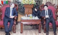 越南之声广播电台将与阿根廷媒体加强合作