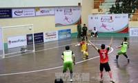 HD Bank室内五人制足球全国锦标赛淘汰赛举行