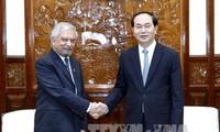 陈大光会见联合国常驻越南协调员兼联合国开发计划署驻越首席代表