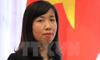 越南坚决反对各项侵犯主权的活动